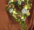 Heart Funeral spray