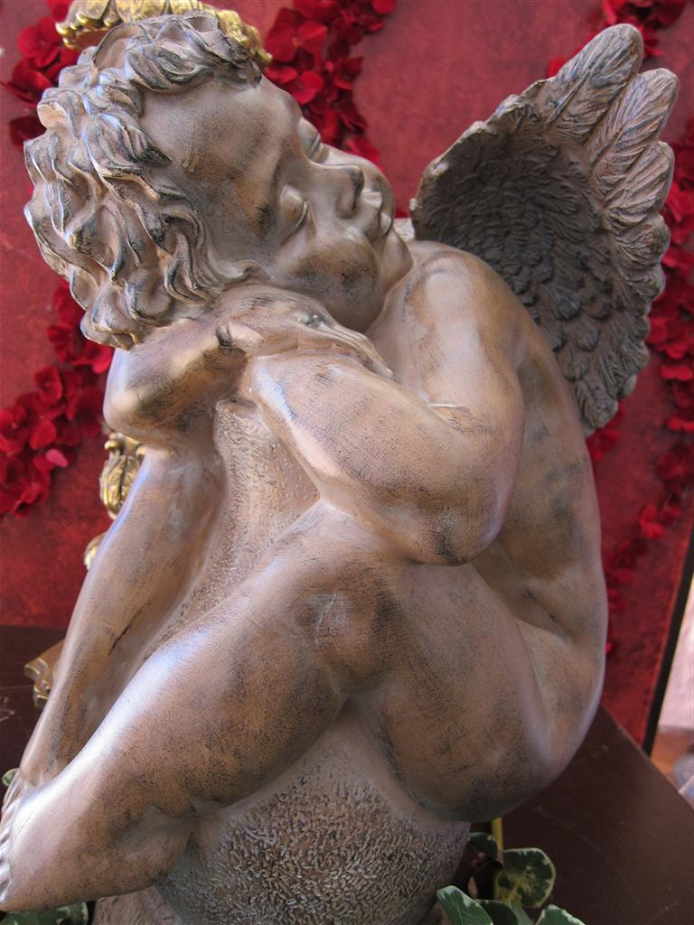 Statue, Angel, Home Decor, Interior Design, Art