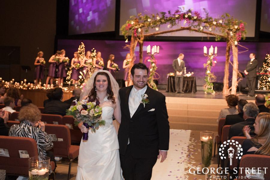 Wedding flowers, bridal bouquet, bridesmaids, ceremony