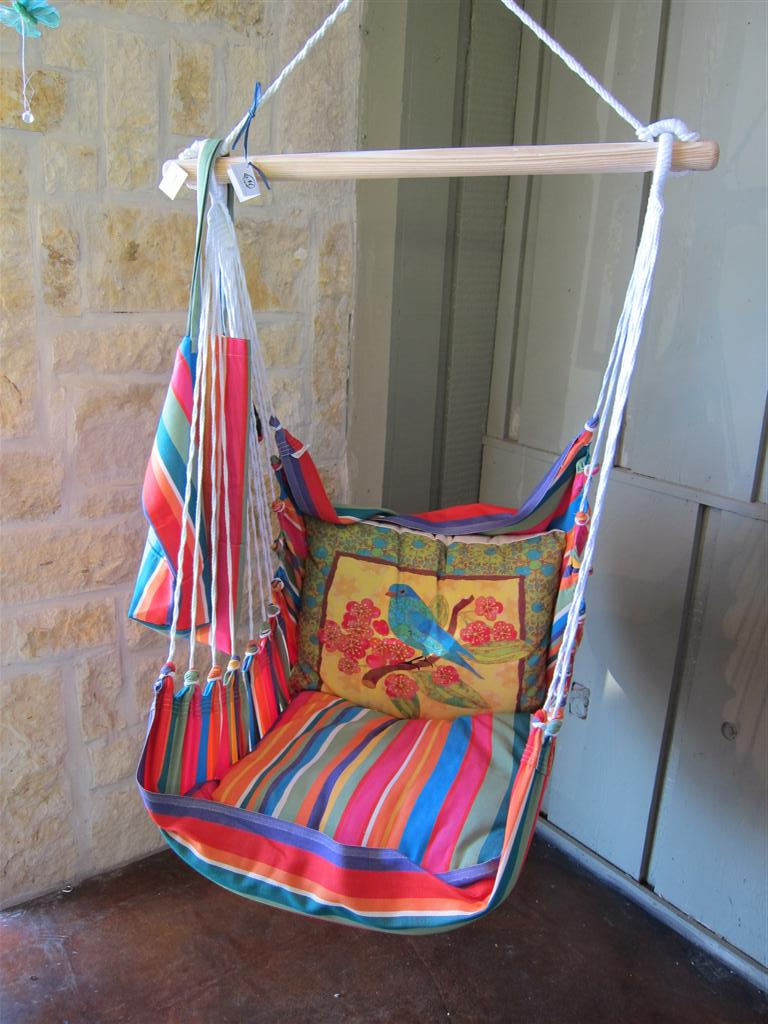 Pillow Swing for Garden or porch