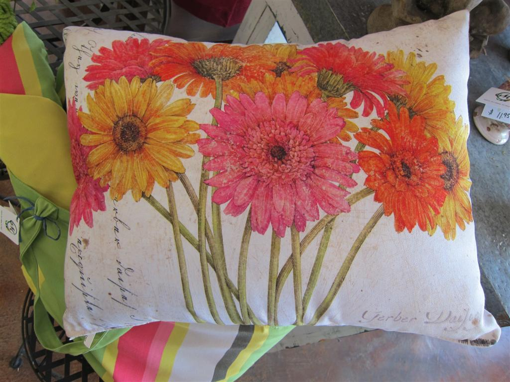 Custom design painted pillows, indoor/outdoor, mildew resistant, fade resistant