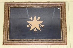 Framed Texas Flag Republic of Texas