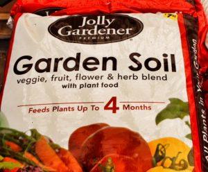garden soil - jolly gardener