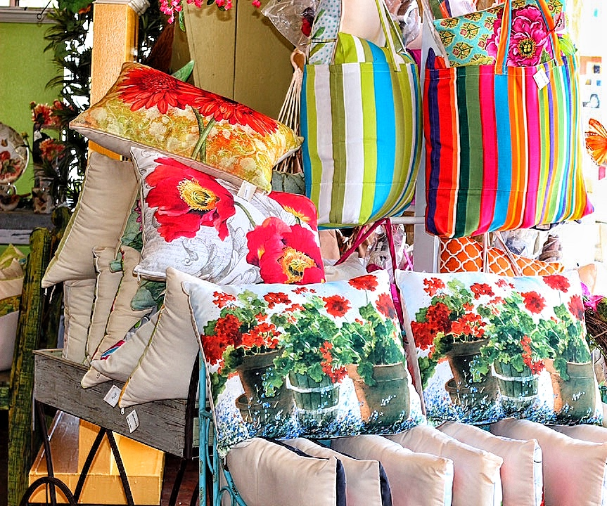 huge selection of outdoor pillows