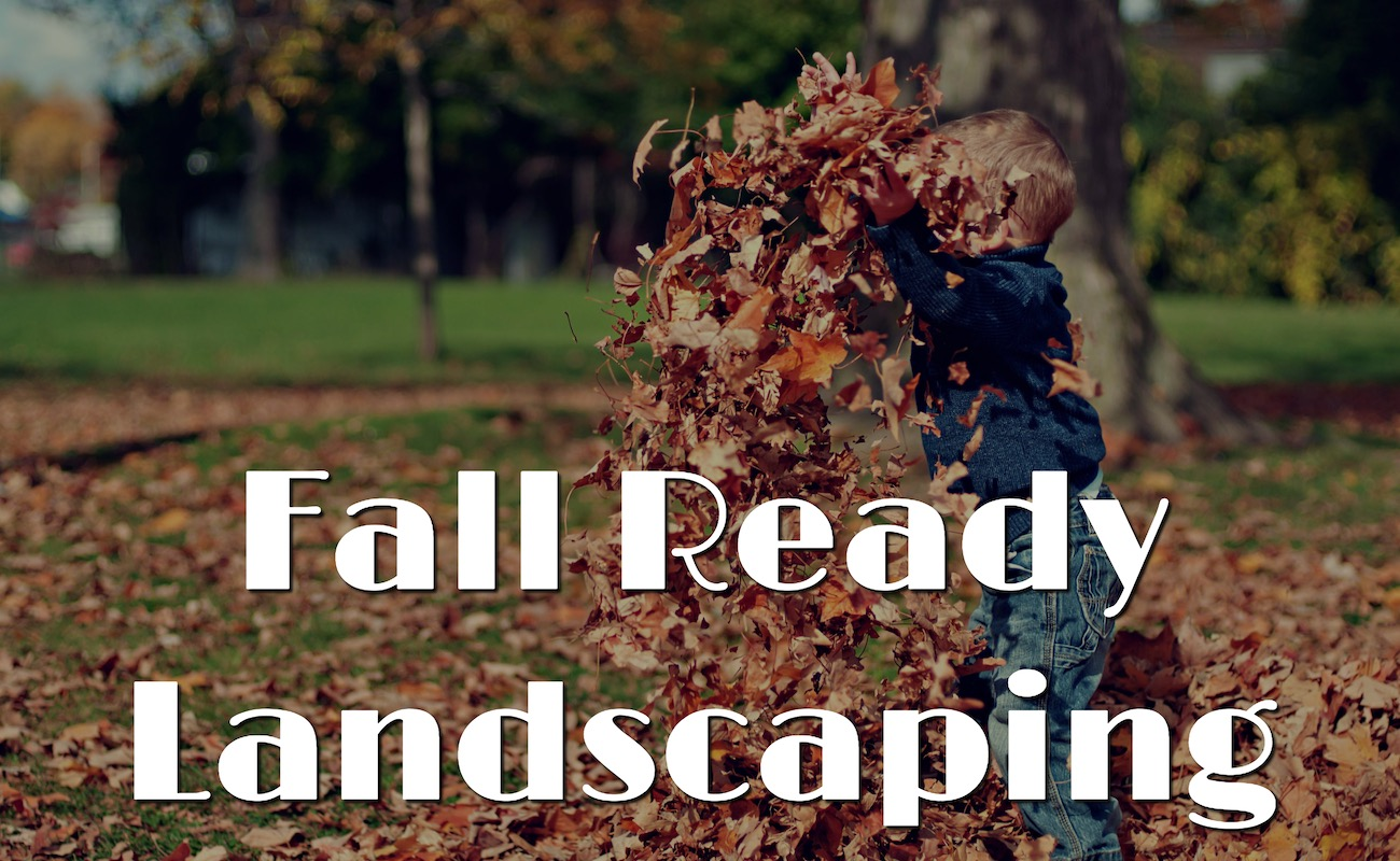 fall ready landscaping